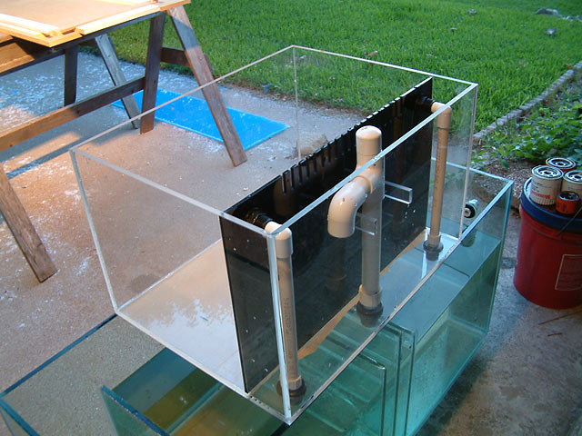 Custom Nano Tank With False Wall Melev S Reef