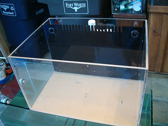 Custom Nano Tank With False Wall Melev S Reef