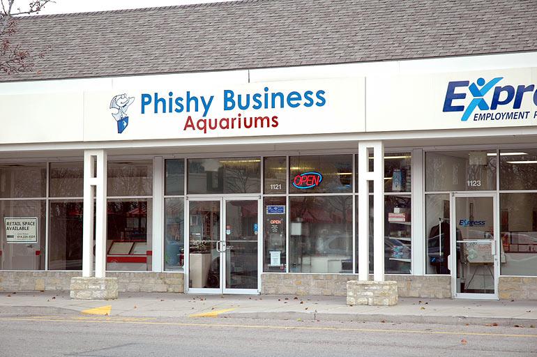 Csea cleveland ohio for Fish store columbus ohio